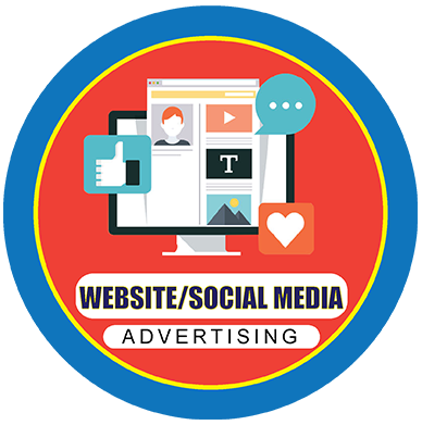 Website &  social media advertising