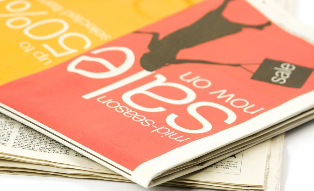 newspaper magazine advertising