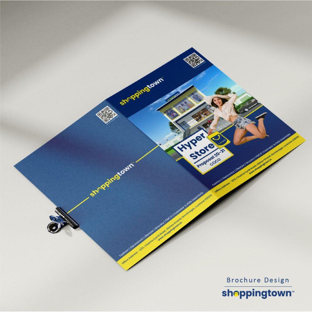 brochure design by WWC